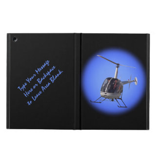 Helicopter iPad Case Cool Custom Helicopter Cases