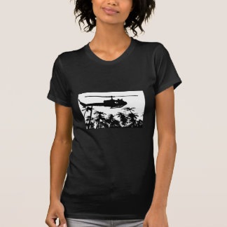 helicopter palm trees T-Shirt