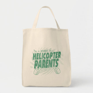 helicopter parents tote bags