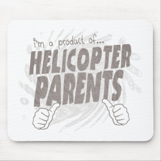 helicopter parents mouse pad