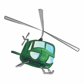 Helicopter Acrylic Cut Outs