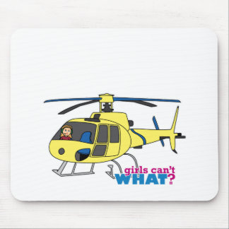 Helicopter Pilot Mouse Mat