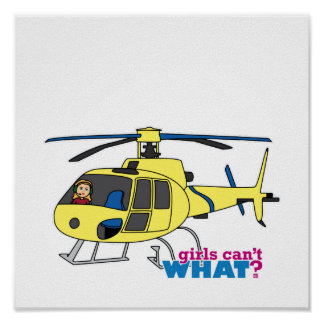 Helicopter Pilot Poster