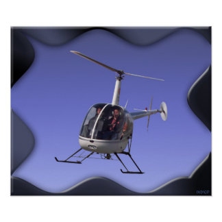 Helicopter Poster Prints Cool Chopper Pilot Poster