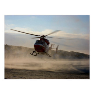 Helicopter Print