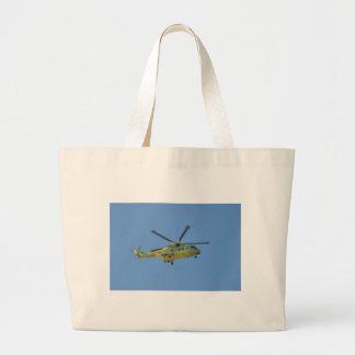 Helicopter to The Isles of Scilly Large Tote Bag