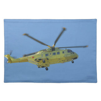Helicopter to The Isles of Scilly Placemat