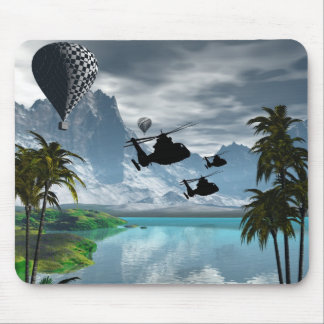 Helicoptors Mouse Pad