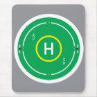 HeliDECK green Mouse Mat