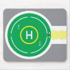 HeliDECK Mouse Pad Green oneway