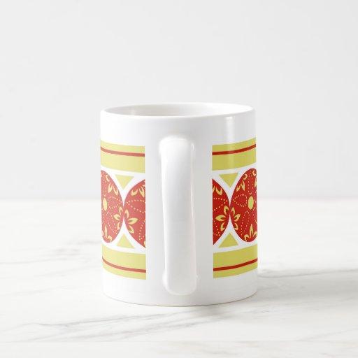 Heliodora stripes - red coffee mugs