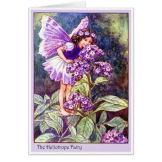 Heliotrope Fairy Greeting Card