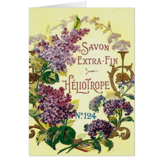 Heliotrope Savon Greeting Card