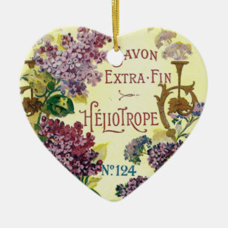 Heliotrope Savon Ornament