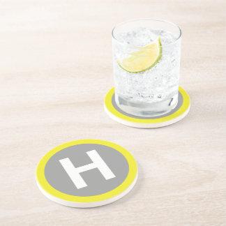 Helipad Sign Coaster