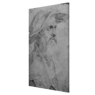 Helius Eobanus Hessus, 1526 Canvas Print