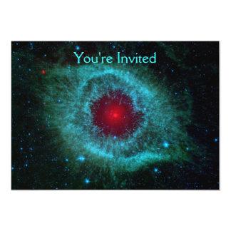 Helix Nebula 13 Cm X 18 Cm Invitation Card