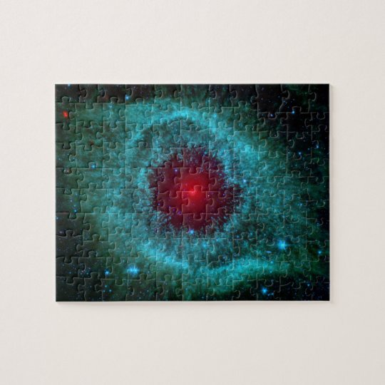 Helix Nebula, Beautiful Stars in the Galaxy Jigsaw