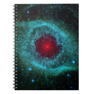 Helix Nebula, Beautiful Stars in the Galaxy Notebook