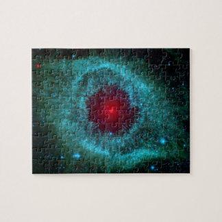 Helix Nebula, Beautiful Stars in the Galaxy Puzzles