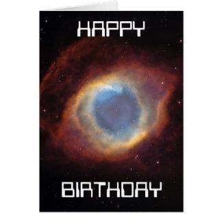 helix nebula birthday card