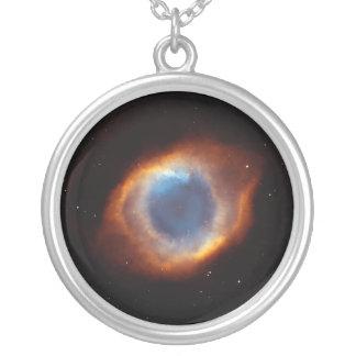 "Helix Nebula ""Eye of God"" Hubble Telescope Custom Necklace"