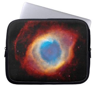 Helix Nebula Eye of God Laptop Computer Sleeves