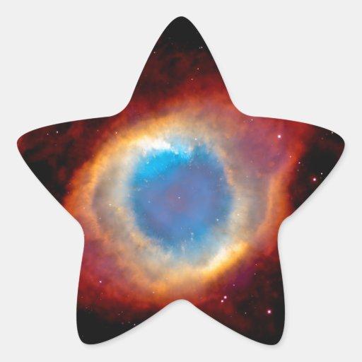 Helix Nebula Eye of God Stickers