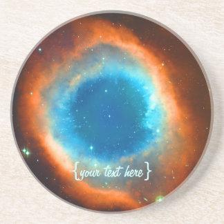 Helix Nebula, Galaxies and Stars Coaster