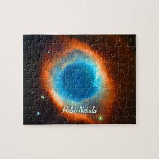Helix Nebula, Galaxies and Stars Jigsaw Puzzle
