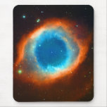 Helix Nebula, Galaxies and Stars Mousepad