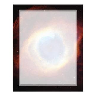 Helix Nebula (Hubble Telescope) Flyer Design