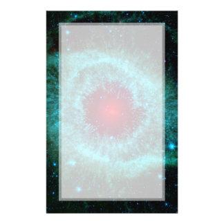 Helix Nebula Infrared Spitzer Personalized Flyer