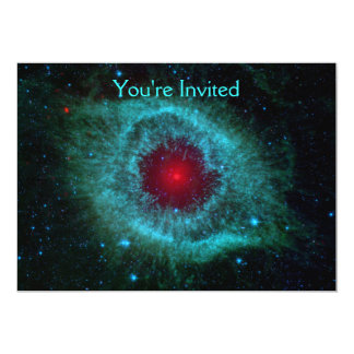 Helix Nebula 5x7 Paper Invitation Card