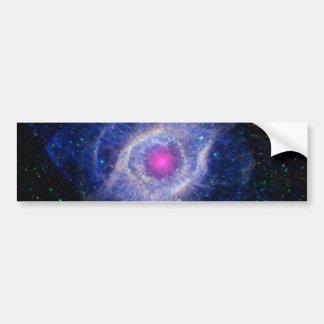 Helix Nebula NASA Purple Bumper Sticker