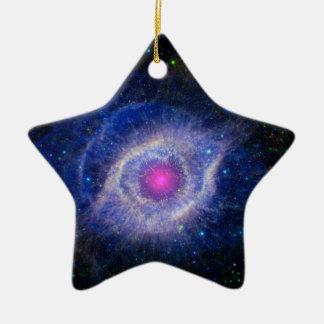 Helix Nebula NASA Purple Ornaments
