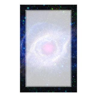 Helix Nebula NASA Purple Flyer
