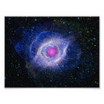 Helix Nebula NASA Purple Photo Art