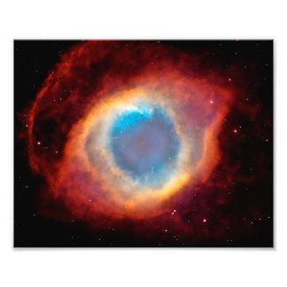 Helix Nebula Photo Print