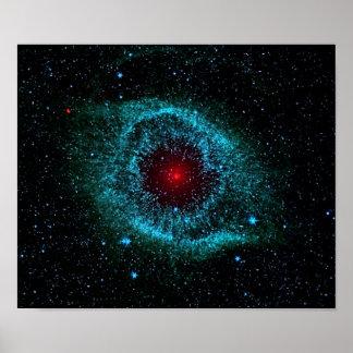 Helix Nebula Posters