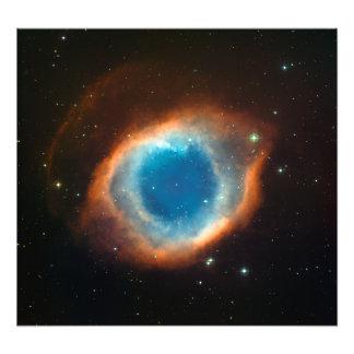 Helix Nebula Space Astronomy Photo Print