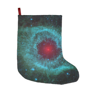 Helix Nebula Space Astronomy Science Photo Large Christmas Stocking