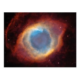 Helix Nebula Space Photo Postcard