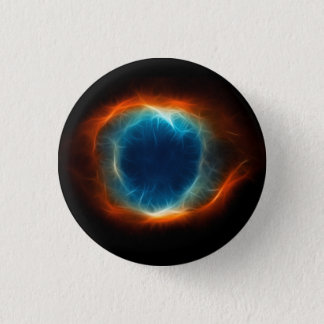 Helix Nebula Star Space Cloud 3 Cm Round Badge
