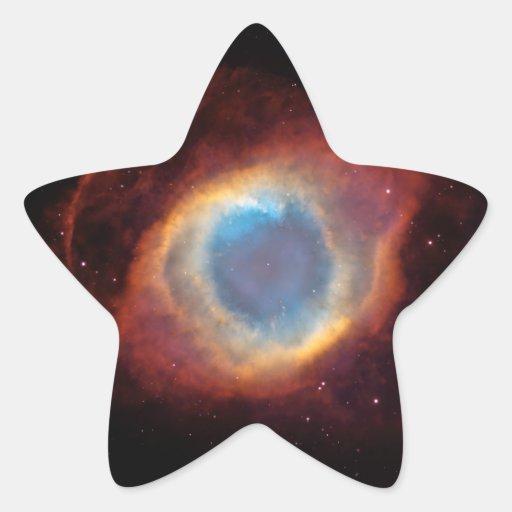 Helix Nebula Star Stickers