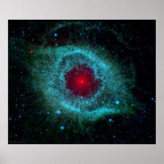 Helix Nebula The Giant Eye Print