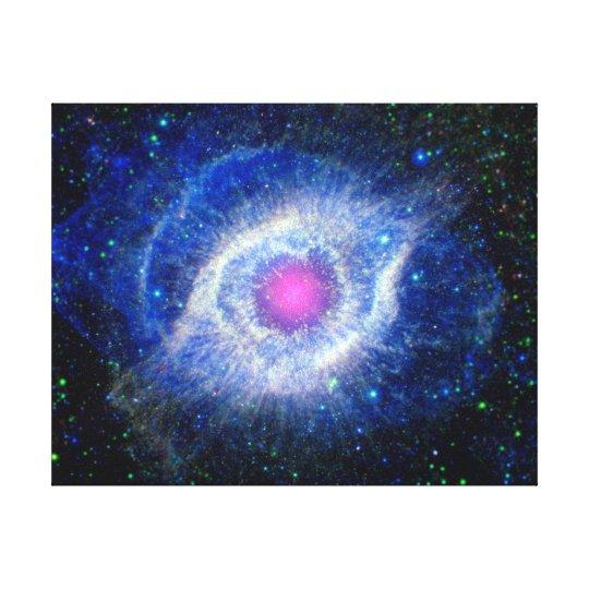 Helix Nebula Ultraviolet Eye of God Space Photo