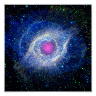 Helix Nebula Ultraviolet Print