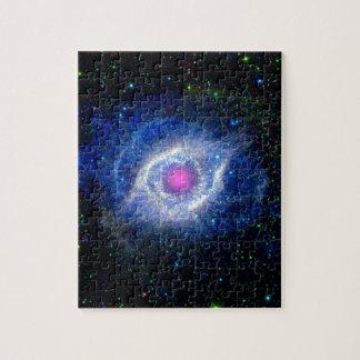 Helix Nebula Ultraviolet Puzzles