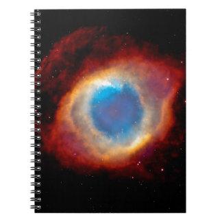 Helix Planetary Nebula NGC 7293 - Eye of God Notebooks